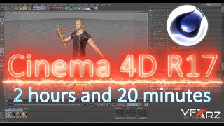 tutorial cinema 4d r17  beginner to advanced   modeling rigging animation particle lighing texturing