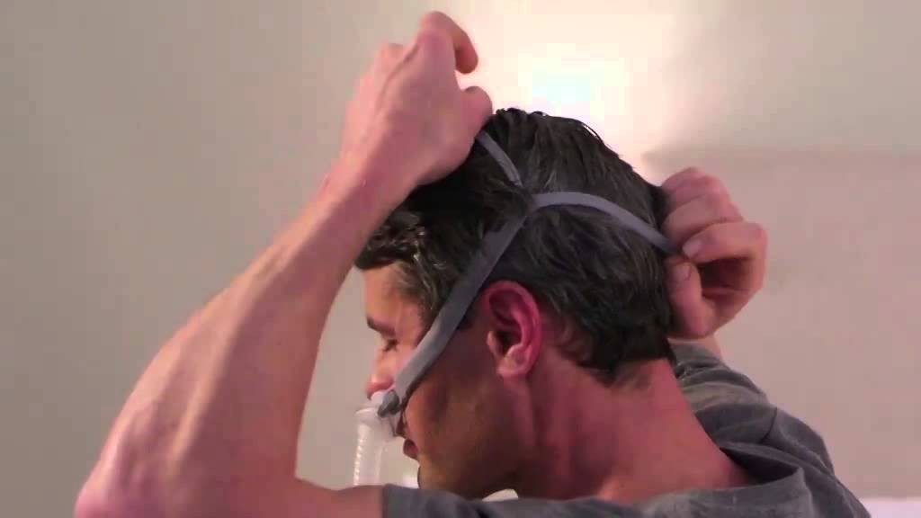how to fit your airfit p10 nasal pillows cpap mask