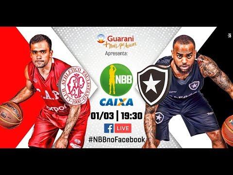 Paulistano 112 x 64 Botafogo | 01.02.2018 |#NBBnoFacebook