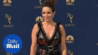 Tina Fey wears every color in the rainbow at 2018 Emmy Awards