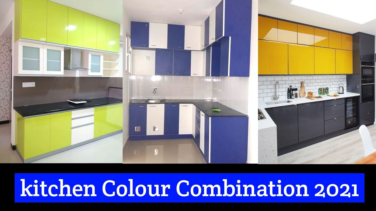 Color Combinations For Kitchen Cabinets