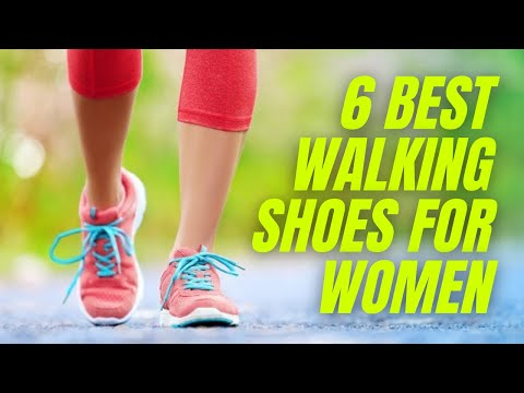 The 6 Best Walking Shoes for Women of 2021