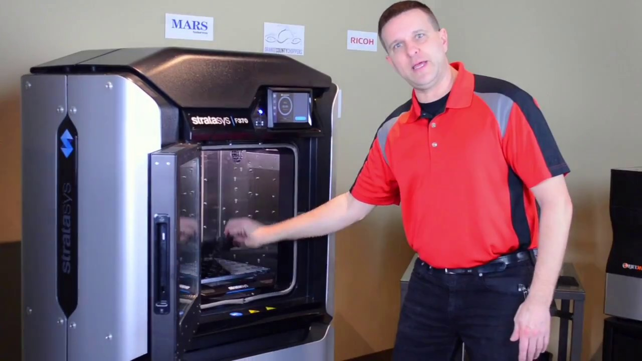 F123 Series Stratasys 3D Printer Introduction