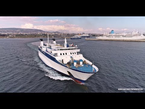 IONIS - Ro-Ro/Passenger Ship  (DRONE VIDEO)  IMO: 7350325