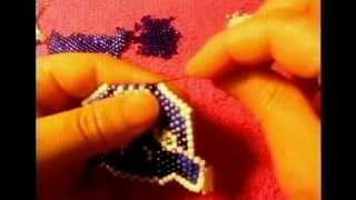 Como hacer una cara de tigre con peyote stitch bien bomita les gustara#6