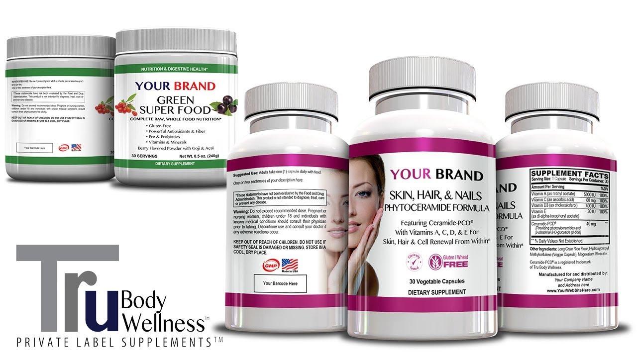 Tru Body Wellness | Private Label Supplement Manufacturers
