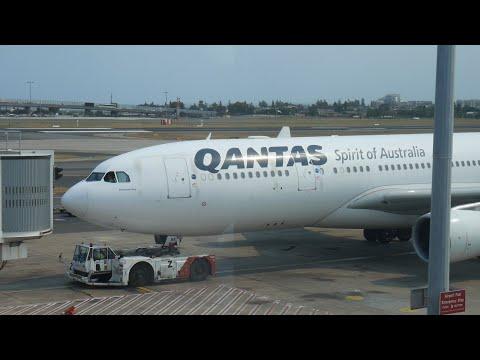 Qantas QF43 Sydney To Bali A330-200 Economy Class