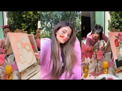 Valentine's Day Party At Kylie Jenner's House
