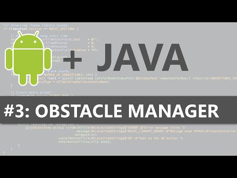 Android Studio 2D Game #3 - Obstacle Manager