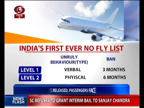 India's first No-Fly list released by Aviation Ministry