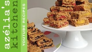 Oat Bars With Jam