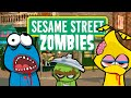 ZOMBIES INVADE SESAME STREET ★ Call of Duty Zombies (Zombie Games)