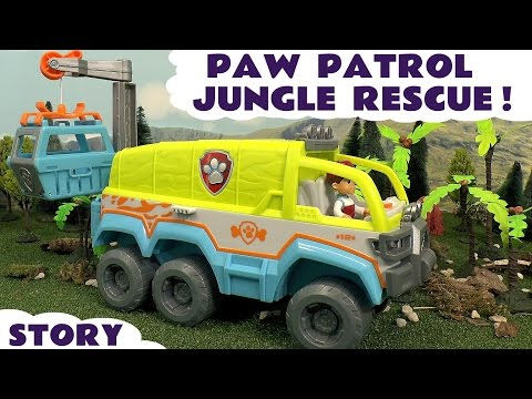 Thumbnail: Paw Patrol Jungle Rescue Episode with Play Doh - Fun stop motion kids toys episode story TT4U