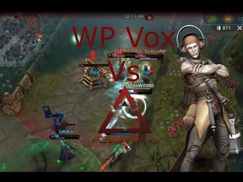WP Vox Vs ACE Gaming Vainglory 5v5!