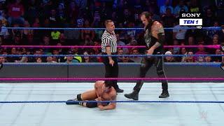 HINDI - Tye Dillinger vs. Baron Corbin: SmackDown LIVE, 3 October, 2017