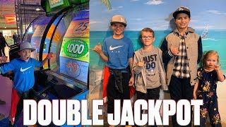 BINGHAMS HEAD BACK TO THE BEACH! BIGGEST ARCADE JACKPOT HACKS | 1,000 TICKET JACKPOT EVERY TIME!