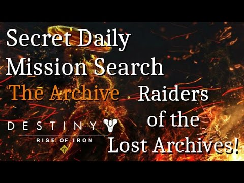 Raiders of the Lost Archives!!!, Secret Daily Mission Search