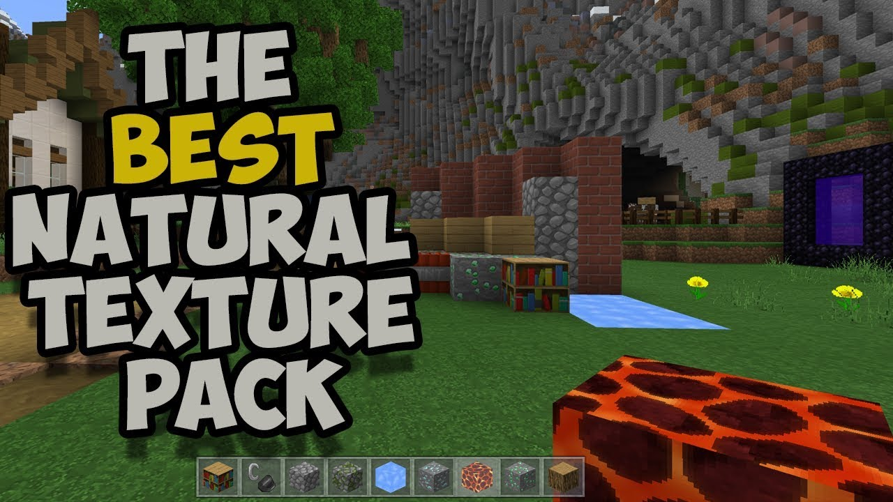 New The Best Texture Pack For Minecraft Pe Bedrock Win10 Xbox Youtube
