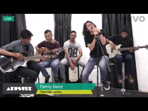Naff  Terendap Laraku [ Family Band ]