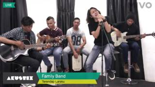 Naff  Terendap Laraku  Cover [ Family Band ]