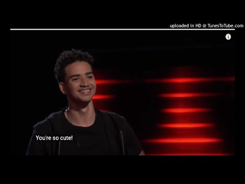 Childish Gambino - Redbone - The Voice 2017  Blind Audition |  Anthony Alexander