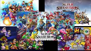 Every Super Smash Bros  Main Theme (1999-2018) Resimi