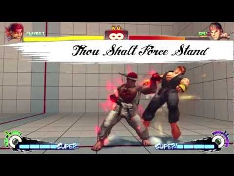 God Save the Combo ~ Evil Ryu Manifesto