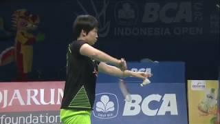BCA Indonesia Open 2017 | Badminton F M5-XD | Zheng/Chen Vs Ahm/Nat