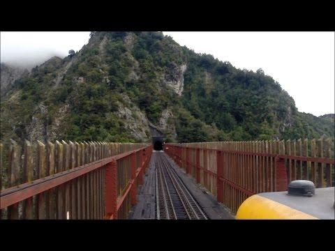 Driver's eye view - Highspeed TranzAlpine Part 1 - Christchurch to Arthurs Pass