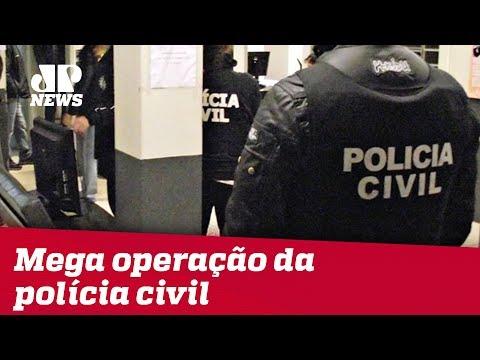 Polícia Civil Realiza Mega Operação Em 38 Cidades Da Região Metropolitana De SP