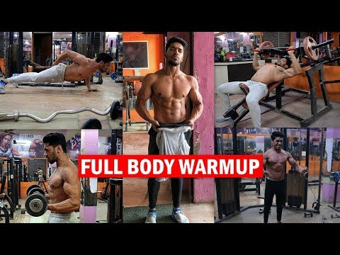 Full Body WARM-UP/STRETCHING Before Workout | Must Do Exercise