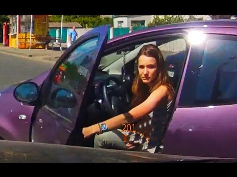 Woman Car Crashes Compilation, Women Driving Fail and accidents #1