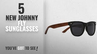 Top 10 Johnny Fly Sunglasses [ Winter 2018 ]: WayFLYer Redwood Sunglasses - Matte Black