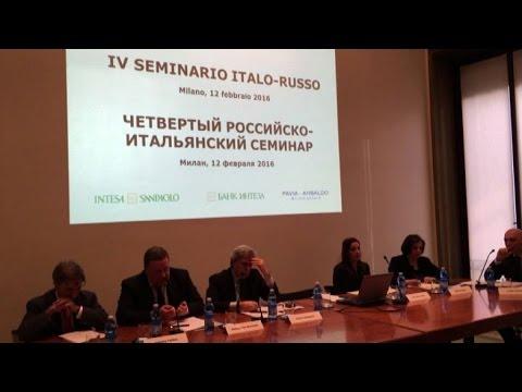 Italia-Russia, innovazione per fare business e superare la crisi