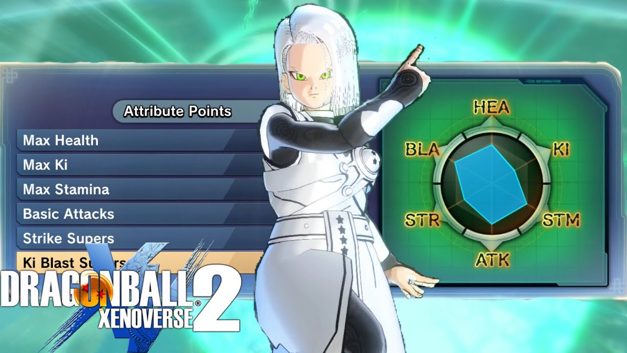 FAR TOO MUCH DAMAGE! Strongest Hybrid Female Earthling Build | Dragon Ball  Xenoverse 2