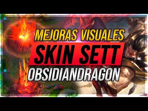 🔥 SETT OBSIDIAN DRAGON - IMPACTO DE LAVA 🔥   MEJORA VISUAL (VFX)