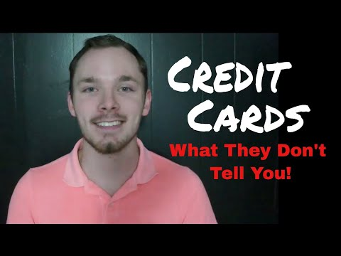 Credit Cards | They Don't Teach This in School!!