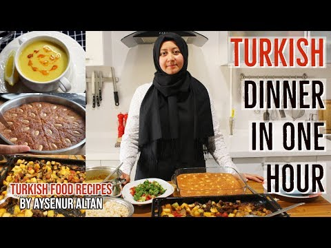 5 Easy Turkish Dinner & Iftar Menu Recipes In One Hour!