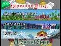 Diamond Rush   All Secret Stage with Mithril Vest    Walk Through ~ 2018