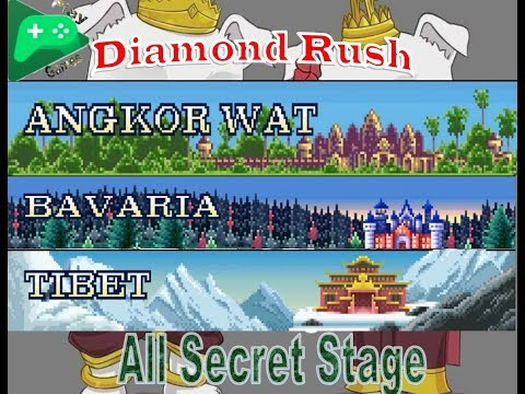 Diamond Rush | All Secret Stage With Mithril Vest  | Walk Through ~ 2018