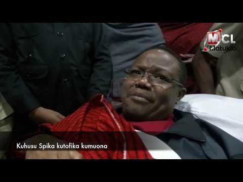TUNDU LISSU ALIVYOAGWA NAIROBI AKIPAA KWENDA UBELGIJI