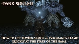 Dark Souls 2 - Walkthrough to get Havel's Armor early in the game (Within 35 minutes)