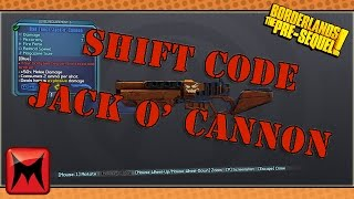 Borderlands: TPS Shift Code For Jack O' Cannon!