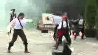 Сражение пиратов на свадьбе в яхт клубе «Пирогово», участие жениха, драка, выстрелы.