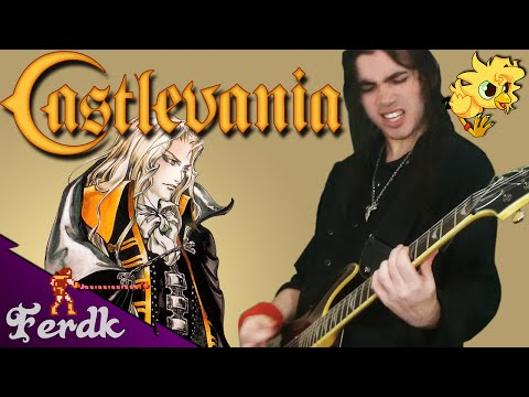 "Castlevania: Symphony of the Night - ""The Tragic Prince"" 【Metal Guitar Cover】 by Ferdk"