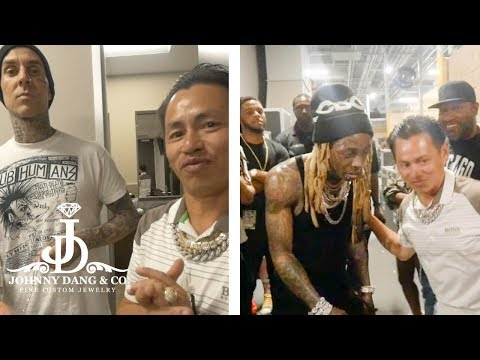 Lil Wayne And Travis Barker Get Iced Out By Johnny Dang