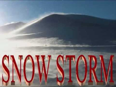 Winter Snow Storm!!!