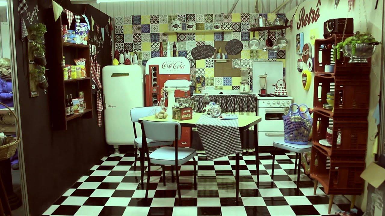 Cozinha Retr  Mega Artesanal 2014  Espao Criativo