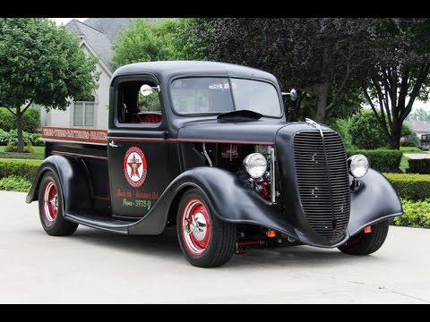 1937 ford pickup street rod for sale youtube