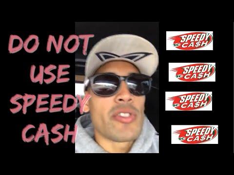DO NOT use Speedy Cash